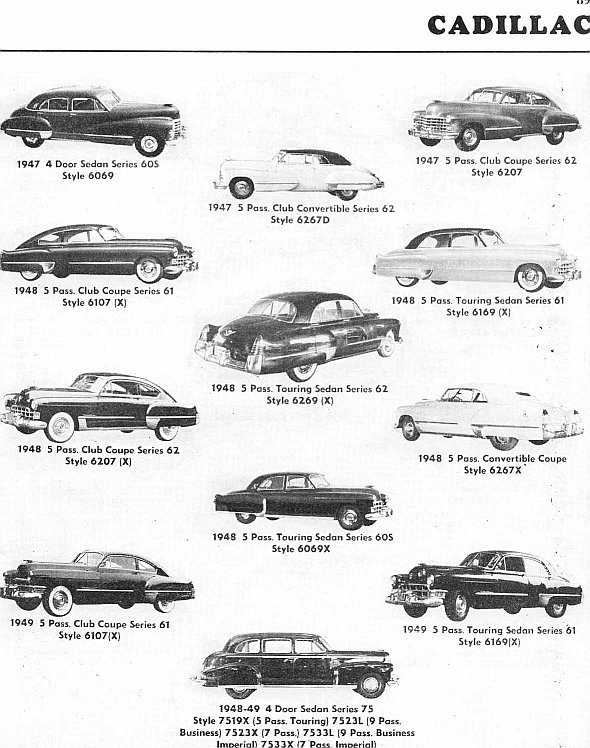 Identifying 1946 1953 Cadillac Automobiles Route 66 Hot