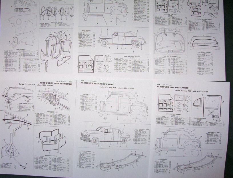1948 Plymouth Special Deluxe Wiring Diagram on 1973 lincoln continental wiring diagram