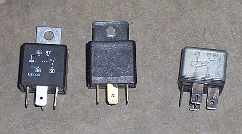 all about automotive relays route 66 hot rod high 3 different styles of automotive relays