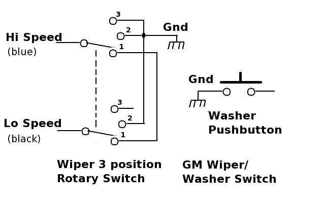 WiperSwGMSchematic the chevrolet wiper switch route 66 hot rod high gm wiper switch wiring diagram at creativeand.co